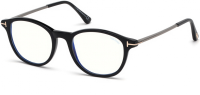 TOM FORD FT5553-B 35704 style-color 001 Shiny Black