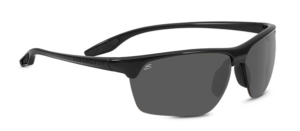 SERENGETI LINOSA style-color 8510 SHINY BLACK / PHD 2.0 POLARIZED CPG