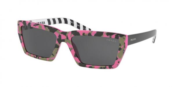 PRADA PR 04VS MILLENNIALS style-color 4625S0 Camuflage Pink / black Lens