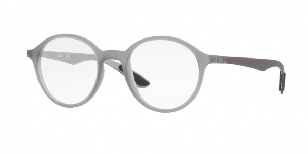 RAY-BAN RX8904 style-color 5244 Matte Trasparent Grey