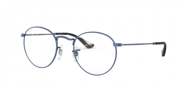 RAY-BAN RX3447V ROUND METAL style-color 3071 Sand Transparent Blu