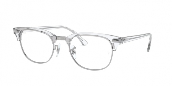 RAY-BAN RX5154 CLUBMASTER style-color 2001 White Transparent