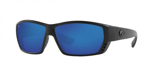 Costa del mar Tuna Alley crystal black//Silver mirror 580p polarized Sunglasses