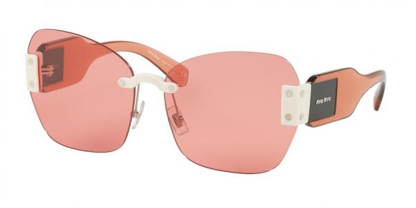 MIU MIU MU 08SS style-color VIU1D0 Ivory / pink Lens