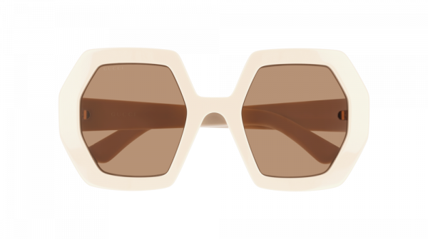 GUCCI GG0772S style-color Ivory 002 / Brown None Lens