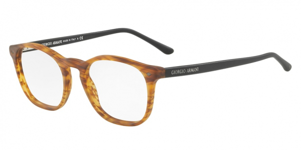 GIORGIO ARMANI AR7074 style-color 5562 Matte Striped Light Brown
