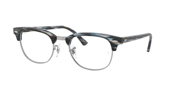 RAY-BAN RX5154 CLUBMASTER style-color 5750 Blue / Grey Striped