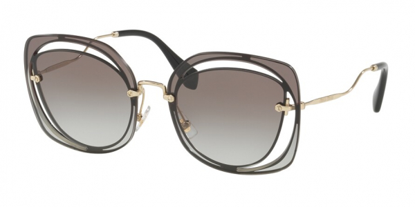 MIU MIU MU 54SS CORE COLLECTION style-color 1AB0A7 Black / grey gradient Lens