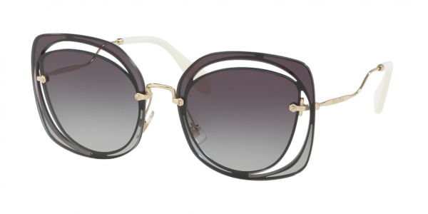 MIU MIU MU 54SS CORE COLLECTION style-color UE65D1 Blue / grey gradient Lens