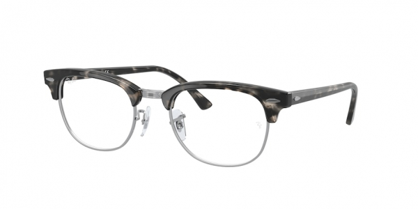RAY-BAN RX5154 CLUBMASTER style-color 8117 Gray Havana