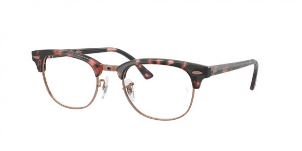 RAY-BAN RX5154 CLUBMASTER style-color 8118 Pink Havana