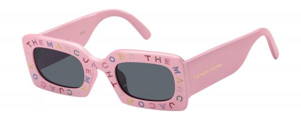 MARC JACOBS MARC 488/S style-color Pink 035J / Gray Blue IR Lens