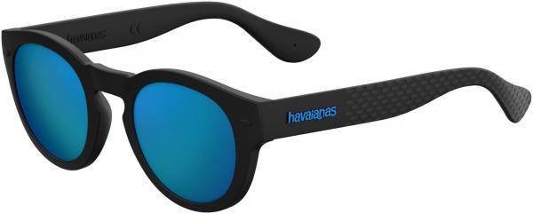 HAVAIANAS TRANCOSO/M style-color Black 0O9N / Ml Blue Z0 Lens