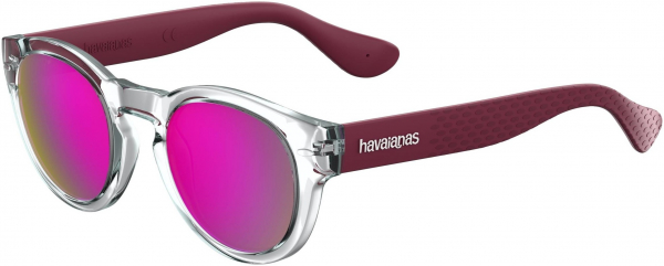 HAVAIANAS TRANCOSO/M style-color Crystal Burgundy 022K / Multipink Cp VQ Lens