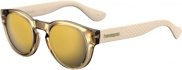 HAVAIANAS TRANCOSO/M style-color Gold 0J5G / Gray Bronze Mirror JO Lens