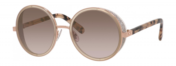 JIMMY CHOO ANDIE/S style-color Gold Copper 0J7A / Brown Mirror Gold NH Lens