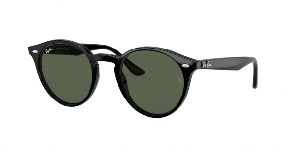 RAY-BAN RB2180 style-color 601/71 Black / dark green Lens