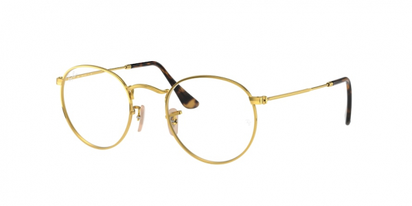 RAY-BAN RX3447V ROUND METAL style-color 2500 Arista