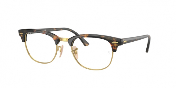 RAY-BAN RX5154 CLUBMASTER style-color 8116 Yellow Havana