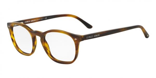 GIORGIO ARMANI AR7074 style-color 5404 Striped Matte Light Brown