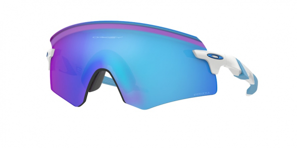 OAKLEY ENCODER OO9471 style-color 947105 Polished White / prizm sapphire Lens